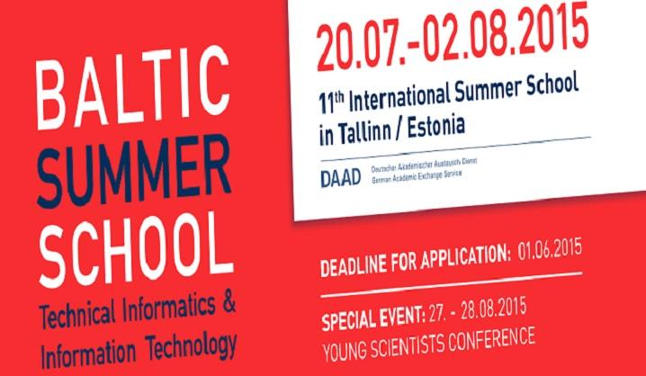 BaSoTi, Baltijos vasaros mokykla 2015