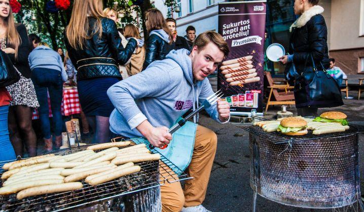 """VGTU studentai kviečia """"Meet for Meat"""" renginyje pasisemti amerikietiškos energijos"""