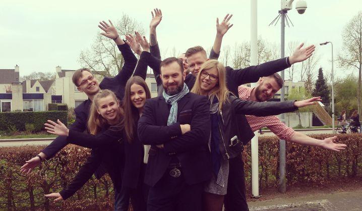 VGTU studentai tarptautinės patirties sėmėsi Olandijoje