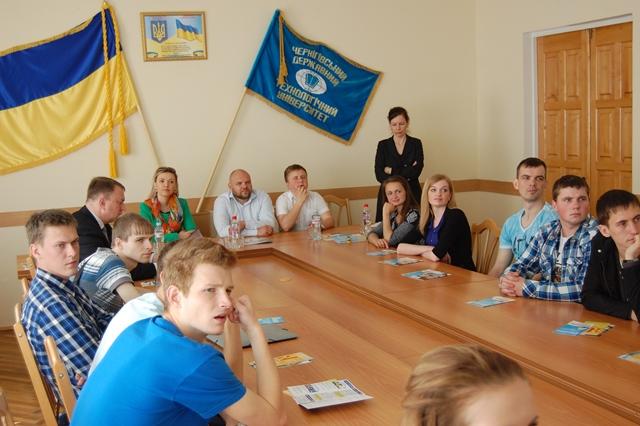VGTU darbuotojai Ukrainos studentams pristatė studijų galimybes Lietuvoje