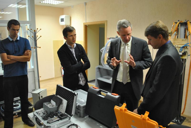 VGTU Transporto inžinerijos fakultete lankėsi delegacija iš Esslingen (Vokietija) aukštosios technikos mokyklos