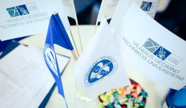 Sėkminga VGTU kokybės vadybos patirtimi domėjosi svečiai iš Latvijos