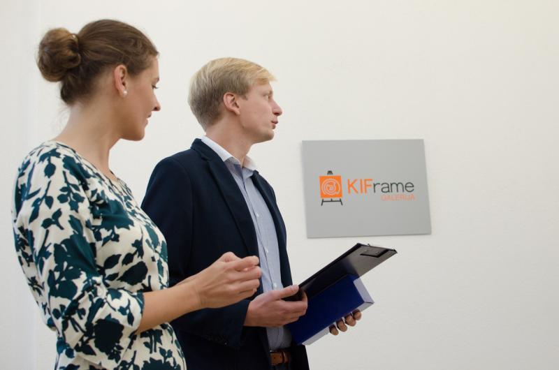 """""""KIFrame"""" galerijoje atidaryta islandų menininko paroda"""