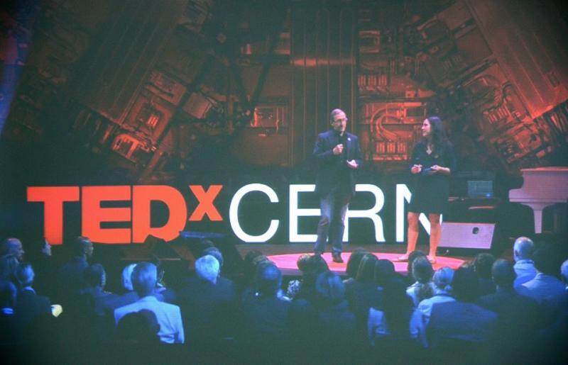 VGTU Live Stream: TEDx CERN akimirkos