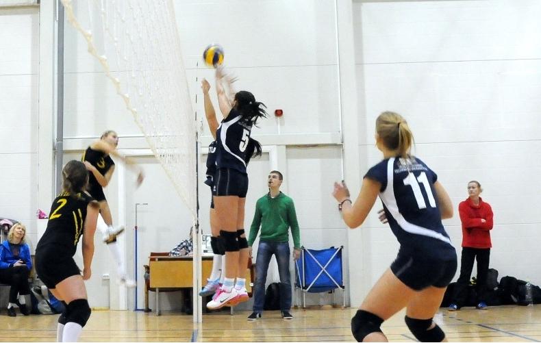 VGTU merginų tinklinio komandos varžybos