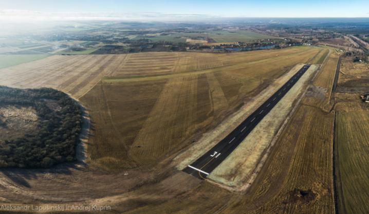 Orlaivių pilotams – visiškai atnaujintas kilimo ir tūpimo takas