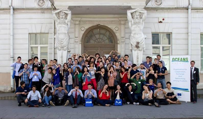 Susitiko tarptautiniuose mainuose dalyvavę studentai