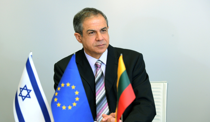 Israeli Ambassador is visiting VGTU for the first time