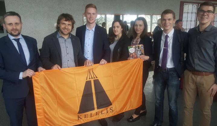 VGTU jaunųjų kelininkų klubas prisijungė prie Saugaus eismo memorandumo