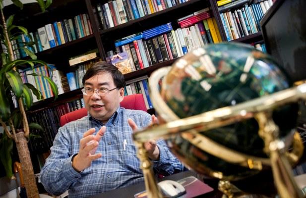 T.C. Edwin Cheng - a guest from Hong Kong Polytechnic University