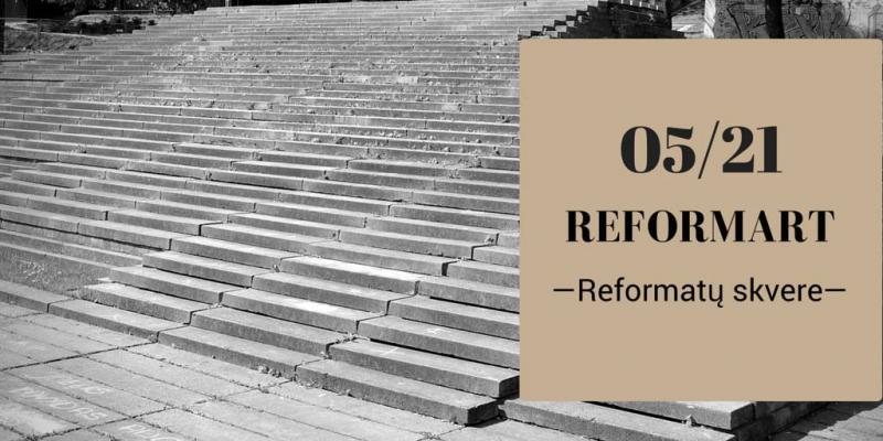 VGTU studentai gaivins Reformatų skverą