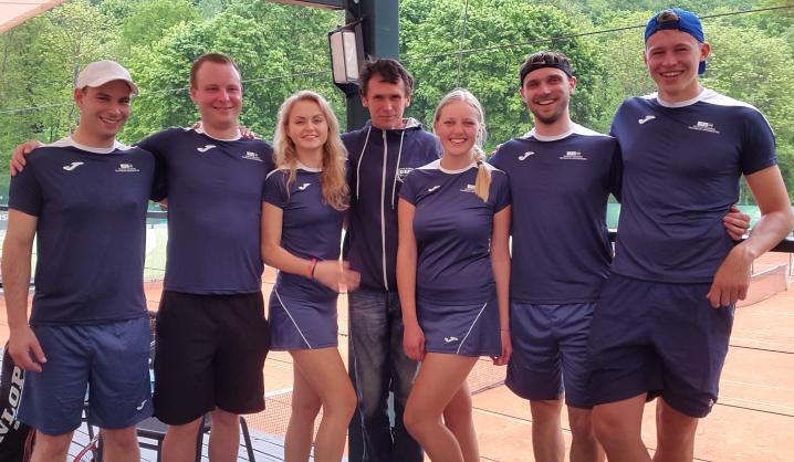 Pirmosios vietos taurė – VGTU tenisininkams