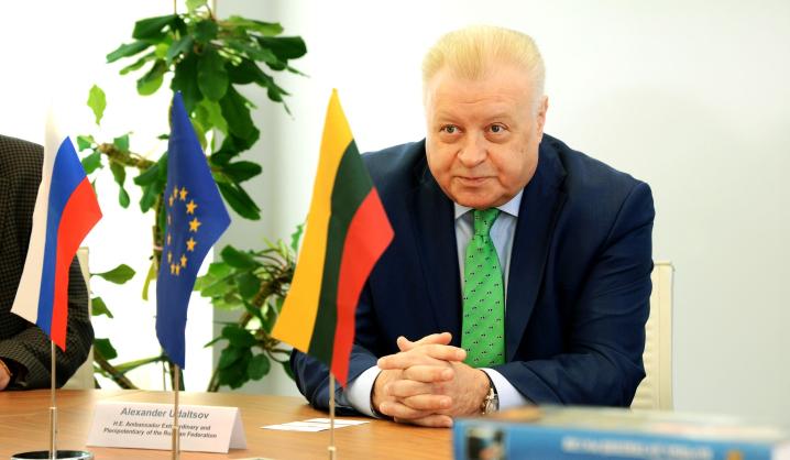 VGTU viešėjo Rusijos Federacijos nepaprastasis ir įgaliotasis ambasadorius