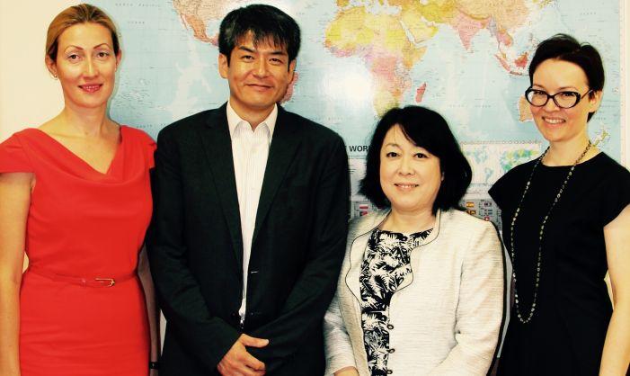 VGTU viešėjo svečiai iš Japonijos