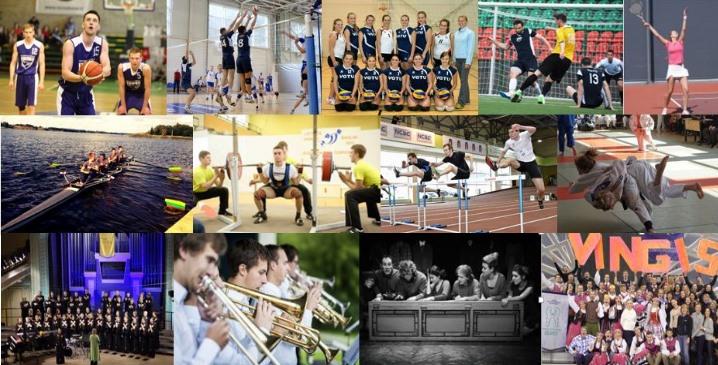 Prisijunkite prie VGTU meno ir sporto kolektyvų!