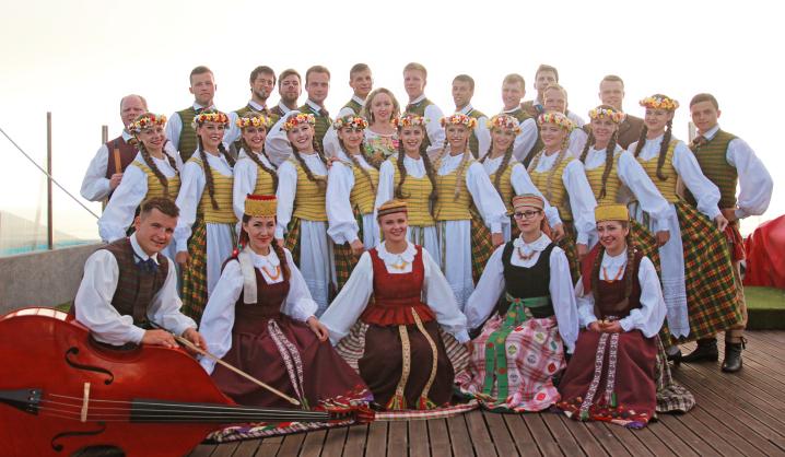 """VGTU šokių ansamblis""""Vingis"""" vasarą viešėjo Portugalijoje"""