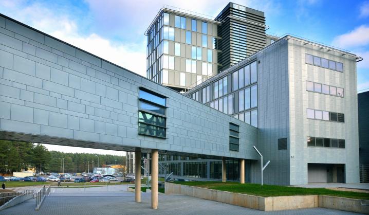 Geriausių Europos architektūros kūrinių konkurse – VGTU mokslo ir administracijos centras