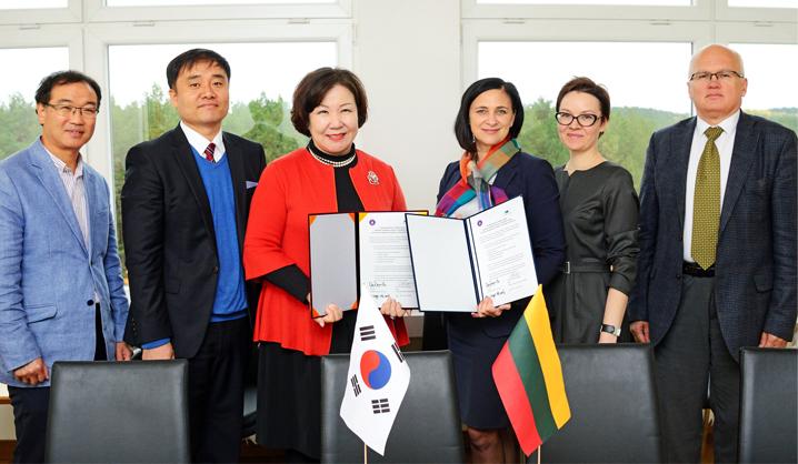 VGTU bendradarbiaus su Pietų Korėjos universitetu