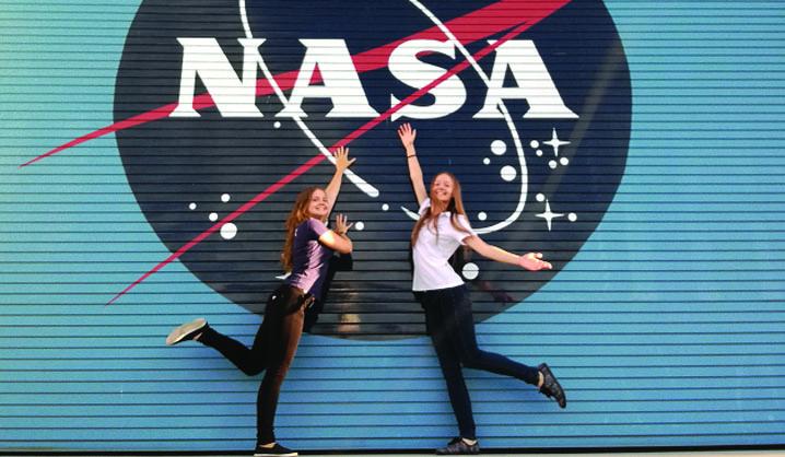 VGTU studentės įspūdžiai iš NASA: apie laisvą grafiką ir darbą mylinčius žmones