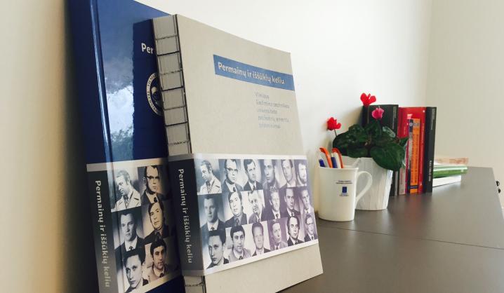 Iškilių asmenybių gyvenimai sugulė į išskirtinio dizaino knygą