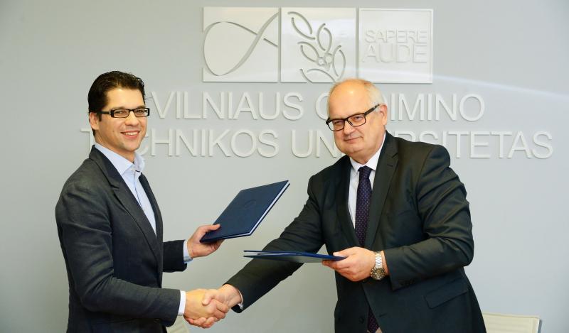 """Didesnei energetikos srities pažangai – VGTU ir """"Litgrid"""" bendradarbiavimo sutartis"""