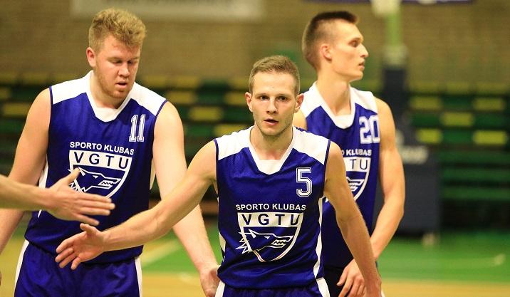 VGTU krepšinio komandos varžybos (SKL)