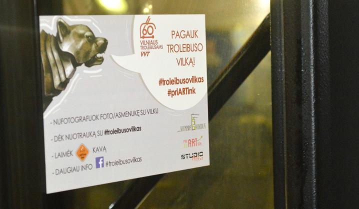 VGTU studentų iniciatyva: troleibusuose bus galima pagauti geležinį vilką