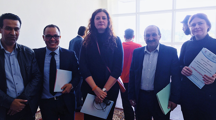Teisės katedros lektorė ir Verslo technologijų katedros docentė svečiavosi Maroke