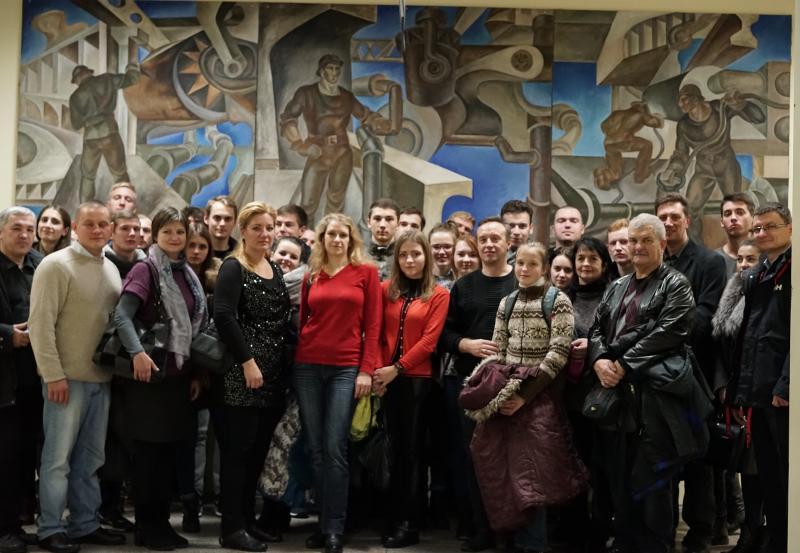 Transporto inžinerijos fakultete lankėsi svečiai iš Baltarusijos nacionalinio technikos universiteto