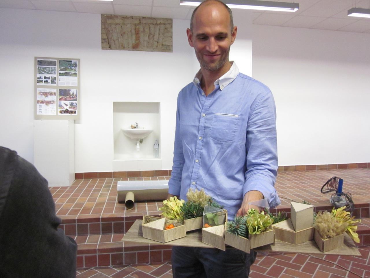 Profesorius iš Olandijos vedė kūrybines dirbtuves VGTU architektams