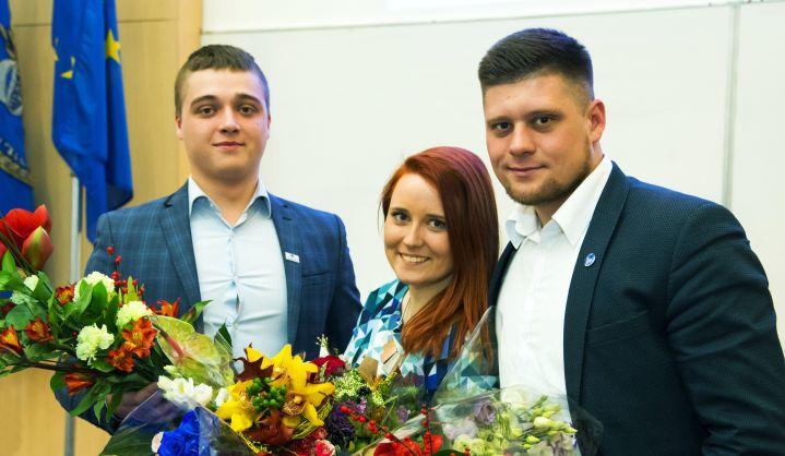 VGTU išsirinko naują Studentų atstovybės prezidentą