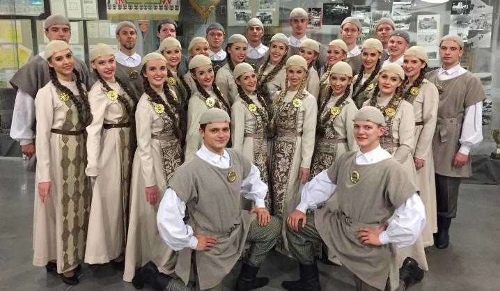 """""""Vingis"""" pasveikino Šiaulius su 780 metų jubiliejumi"""