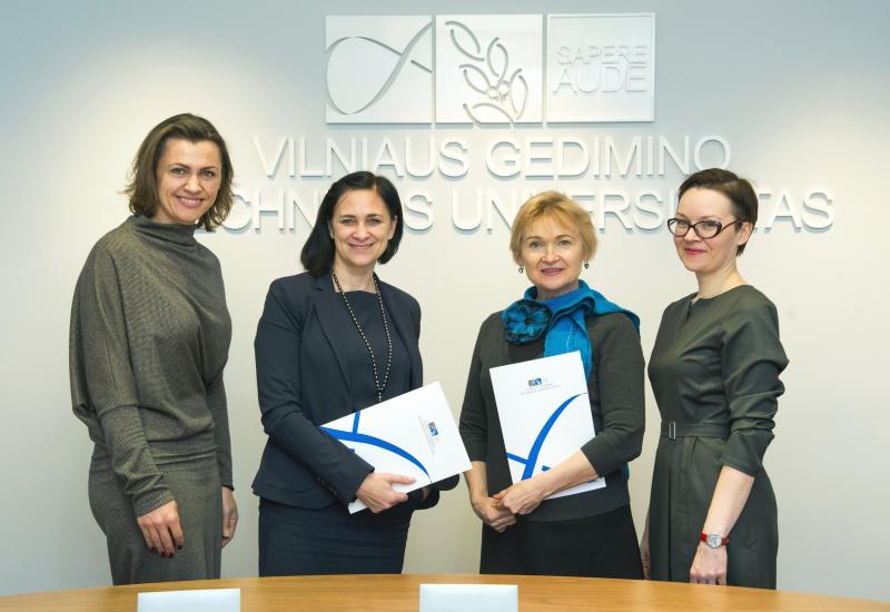 VGTU atstovai susitiko su JAV lietuvių bendruomenės Krašto valdybos pirmininke