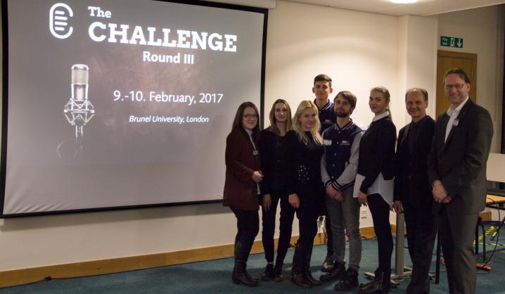 Studentai atstovavo VGTU tarptautiniame konkurse Londone