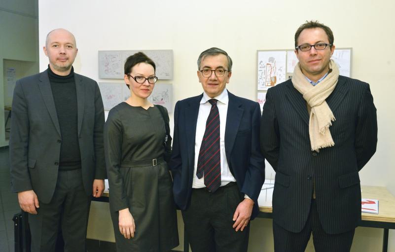 VGTU Architektūros kūrybinių dirbtuvių rezultatų pristatyme – Italijos ambasadorius