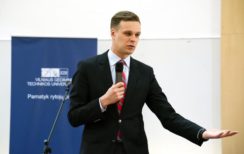 """G. Landsbergis: """"Švietimas ir jo kokybė tampa ateities valiuta"""""""