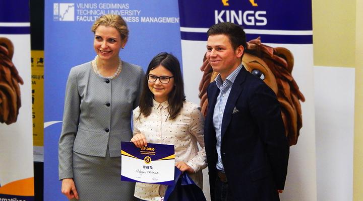VGTU – tarptautinė Kings olimpiada