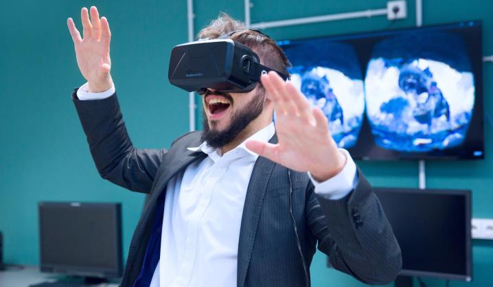 VGTU Opens VR Laboratory