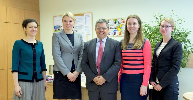 VGTU Strateginio planavimo ir KVS patirtimi domėjosi Kolumbijos universitetas