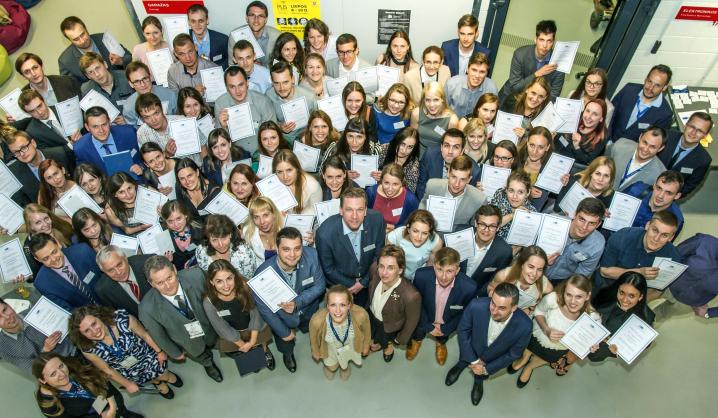 """Būsimiesiems absolventams – projektas """"VGTU absolventai: 100 perspektyvų"""""""