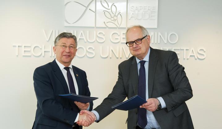 """VGTU bendradarbiaus su nacionaline vežėjų automobiliais asociacija """"Linava"""""""