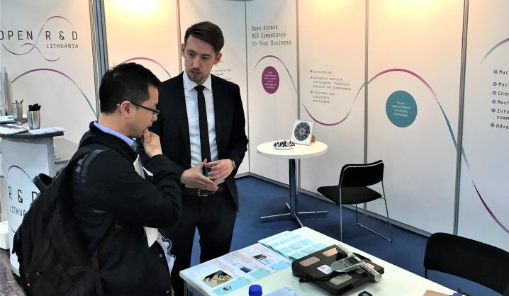Sėkmė pasaulinėje industrijos parodoje: VGTU išradimu susidomėjo prancūzai