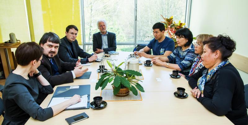 Svečiai: VGTU vieši Kazachstano Al-Farabi universiteto atstovai