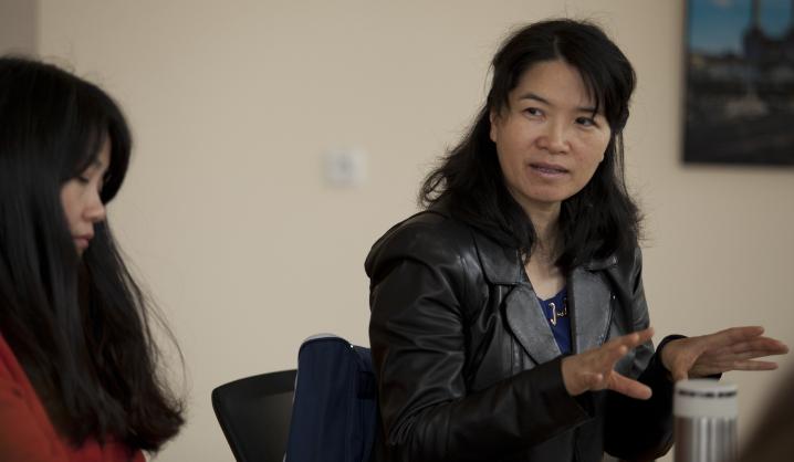 VGTU viešėjo ir patirtimi dalijosi mišraus mokymosi ekspertė iš Kinijos