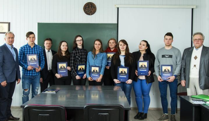 Įteikta 200-oji ilgamečio universiteto rėmėjo stipendija