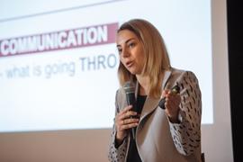 Seminaras su komunikacijos eksperte iš Ukrainos A. Nuržynska