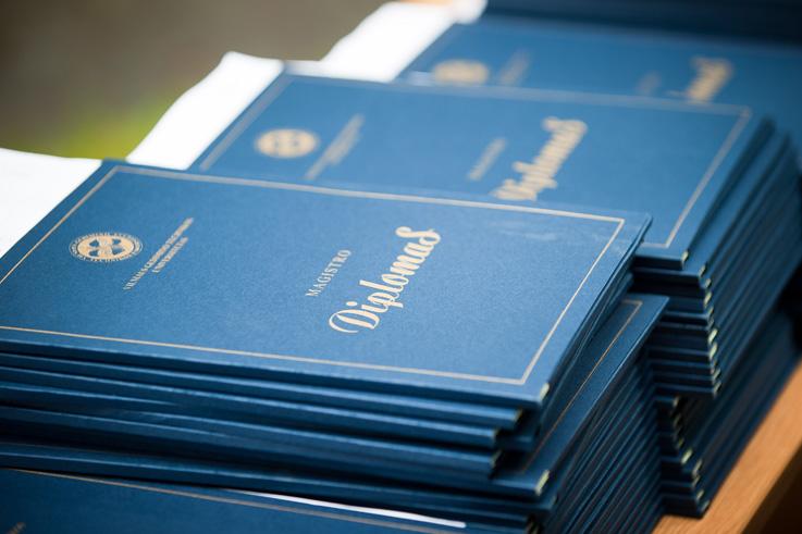 VGTU diplomų įteikimo šventė 2017 m. birželį