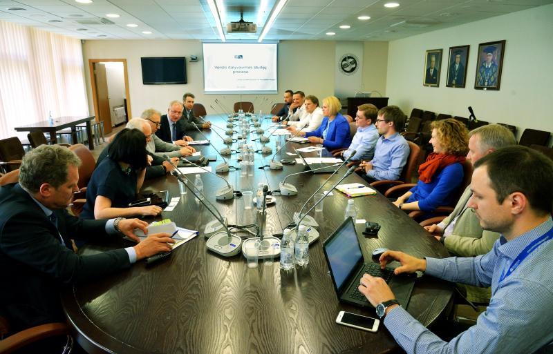 VGTU vyko susitikimas su projektuotojais