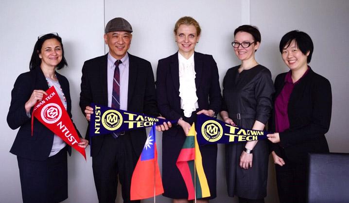 VGTU ir TaiwanTech pasidalino verslumo ir studijų organizavimo patirtimis