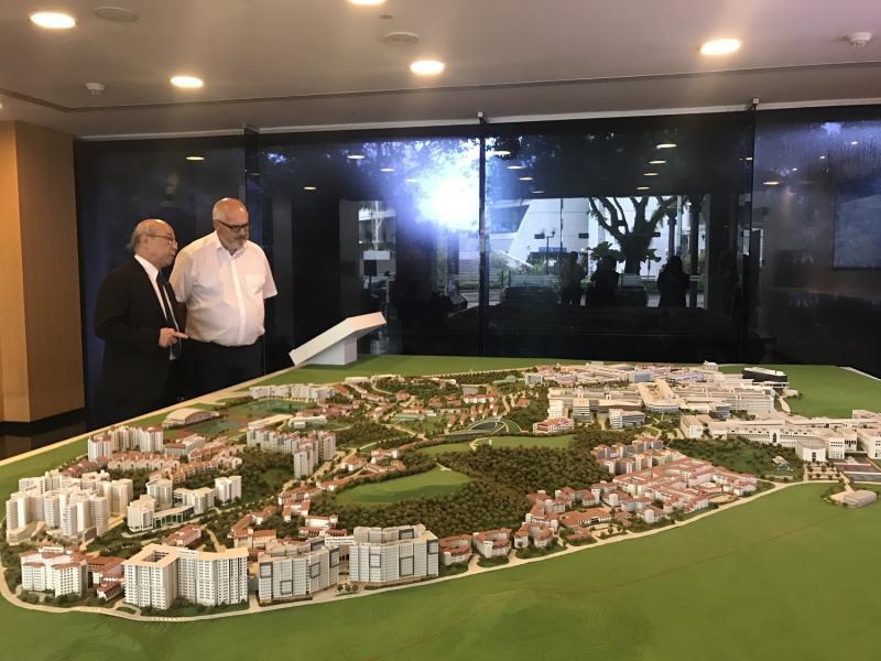 VGTU atvertos durys į Nanyango technologijos universitetą Singapūre
